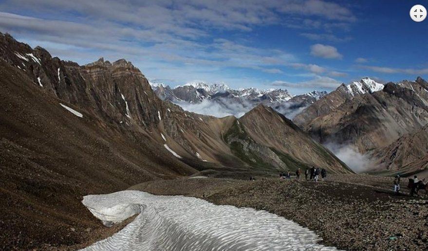 Amazing landscape - during religious walk.
