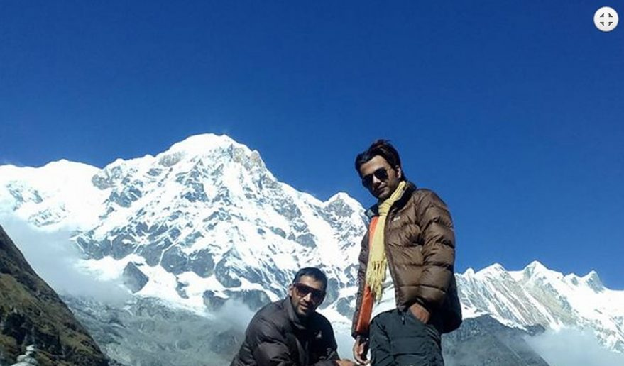 Annapurna Base Camp Trek with Heli.