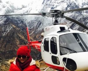 Annapurna Base Camp Trek with Helicopter