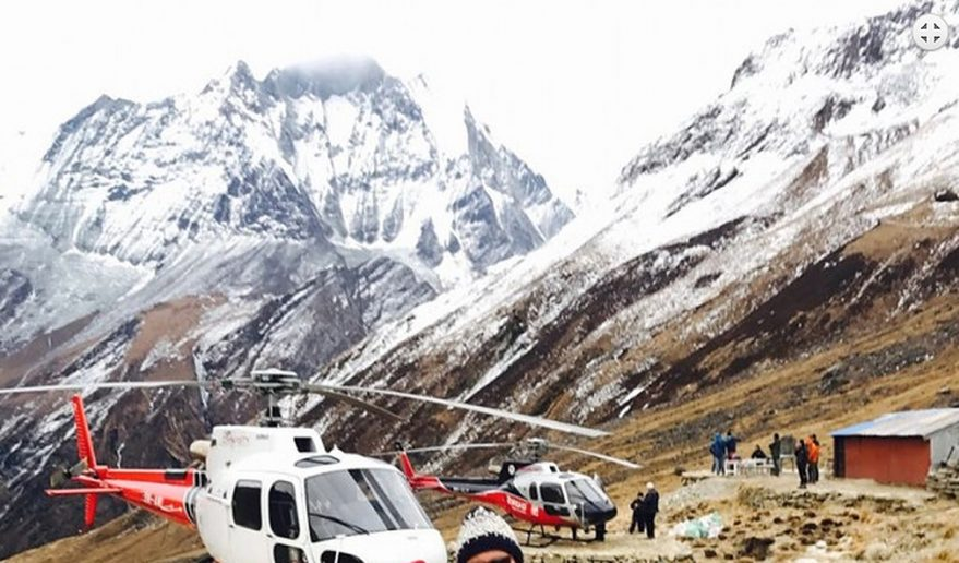 Annapurna Base Camp Trek with Helicopter.