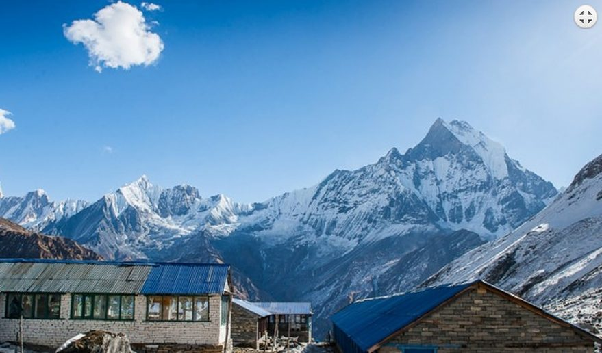 Annapurna Base Camp.
