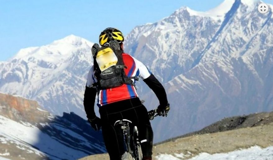 Annapurna Circuit Mountain Biking Tour.