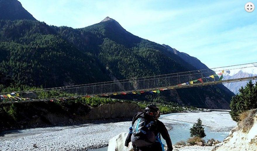 Annapurna Circuit Mountain Biking.