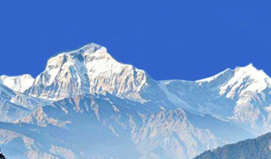 Mt. Dhaulagiri 8167 m