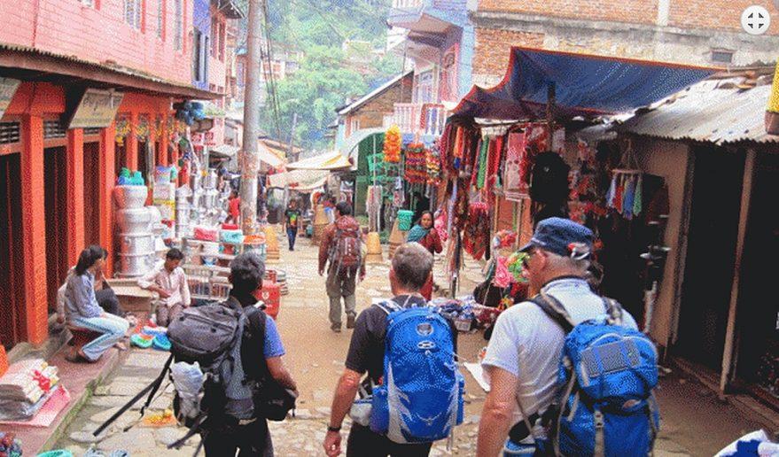 Budi Gandaki River Fishing | Arughat Bazaar.