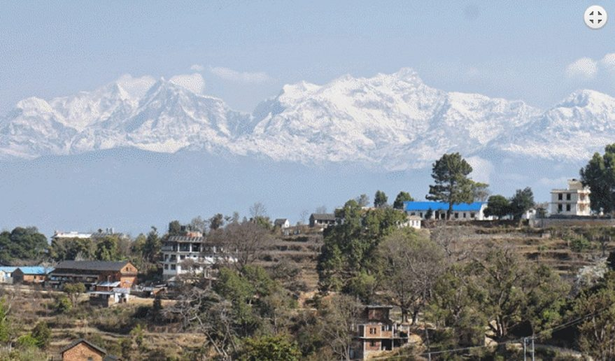 Honeymoon Tour Nepal | At Bandipur - Typical newari village