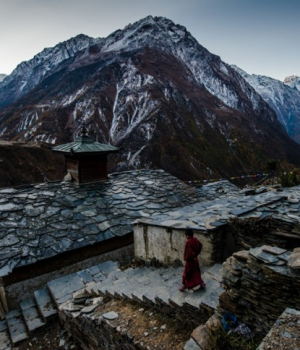 Lower Tsum Valley Trek | Mu Gompa - A Tibetan Monastery
