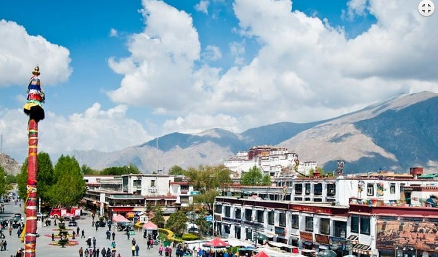 Kathmandu Lhasa EBC Tour | Barkhor Bazaar.
