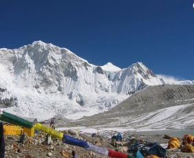 Baruntse High Camp