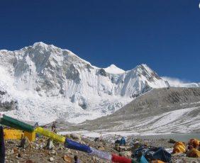 Baruntse High Camp