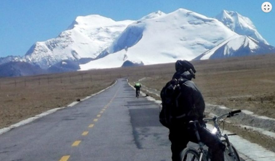 Beautiful Landscape Mount Kailash Biking Tour.