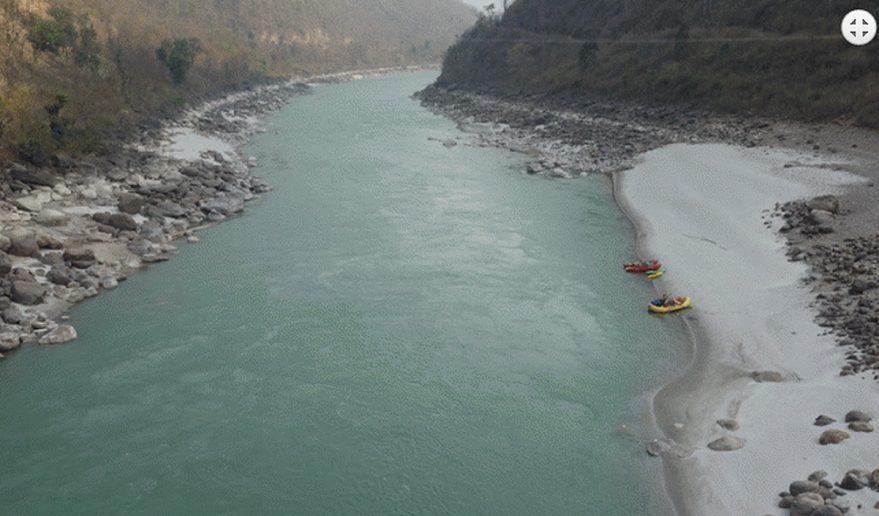Beautiful Sunkoshi River.