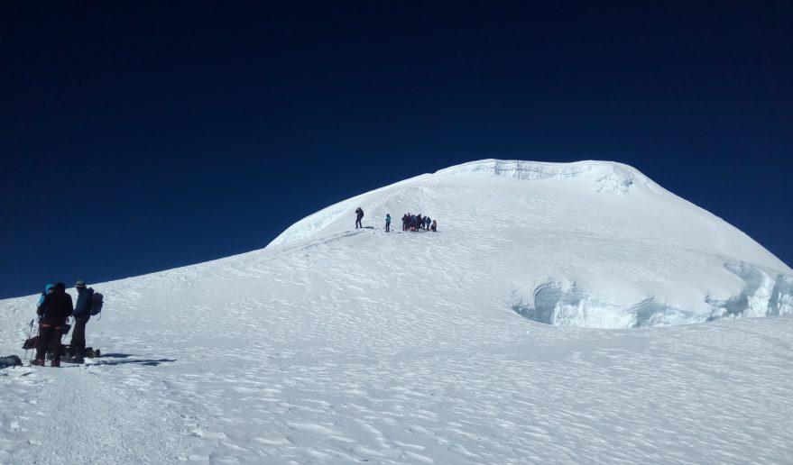 Mera Peak is the Beginners Peaks in Nepal