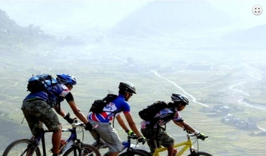 Bike Tour in Kathmandu valley.