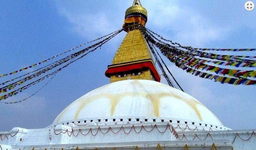 Journey to Druk Yul   Bouddhanath Stupa Kathmandu sightseeing.
