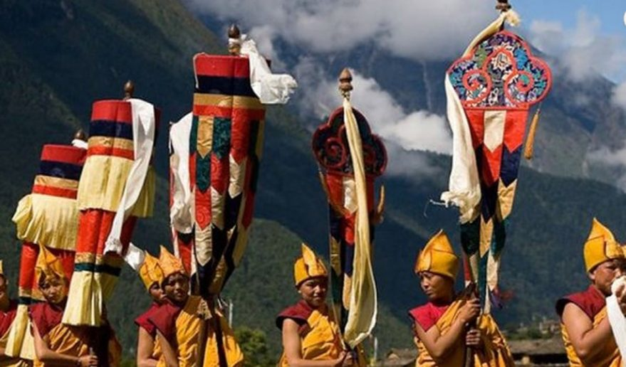 Buddhist Festival at Tsum valley Trek