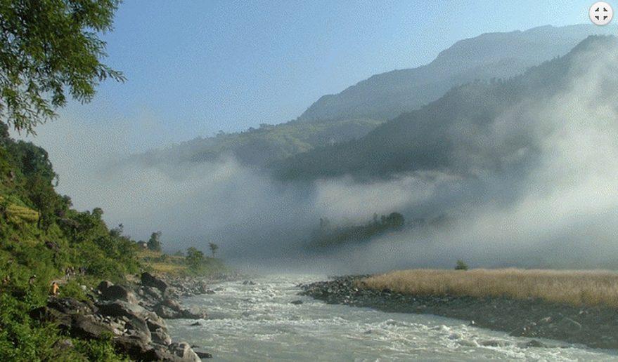 Budi Gandaki River.