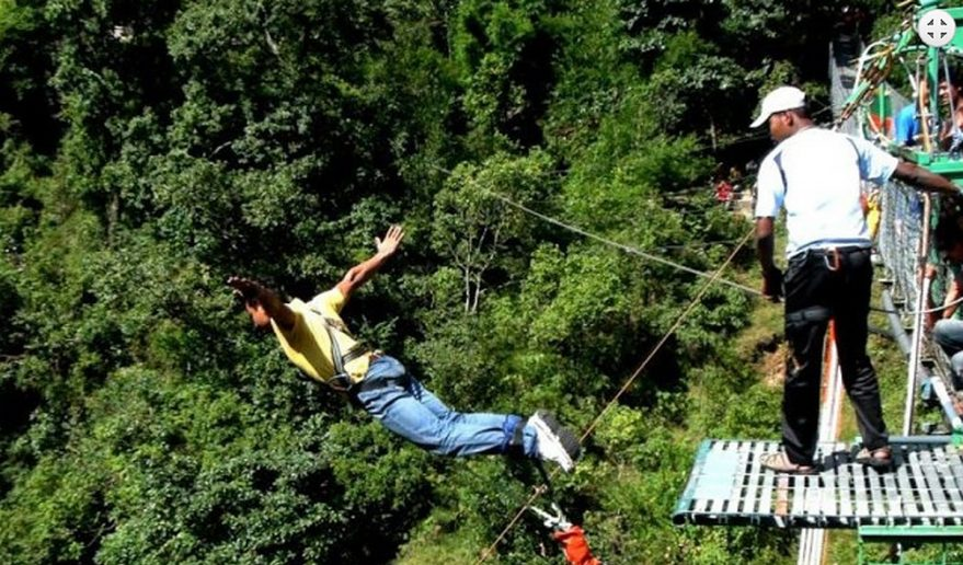 Bungee Jump Adventure Day tour.