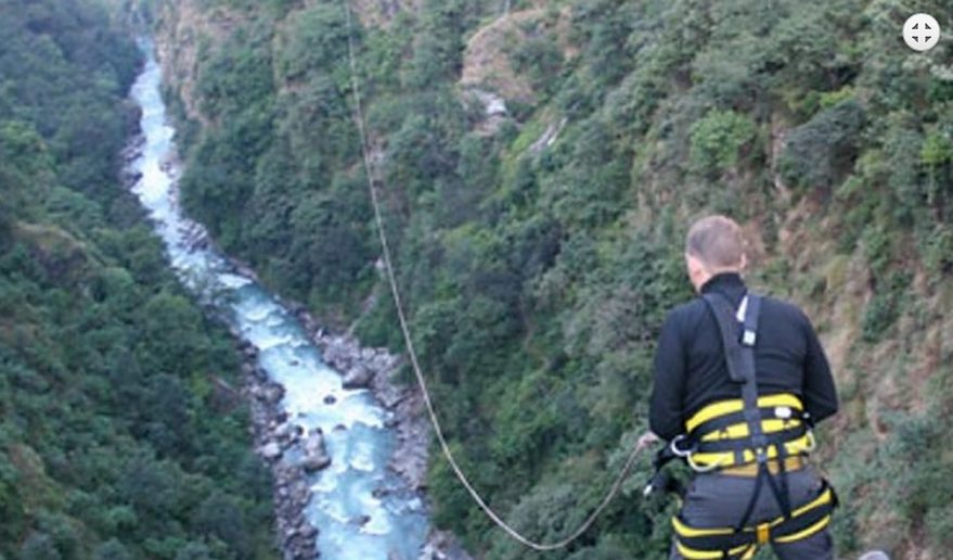 Bungee Jump Adventure tour in Nepal.