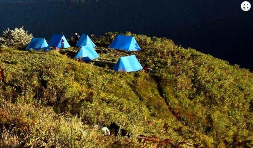 Dagala Thousand Lakes Trek | Campsite at Labatma Dagala Thousand Lakes Trek.