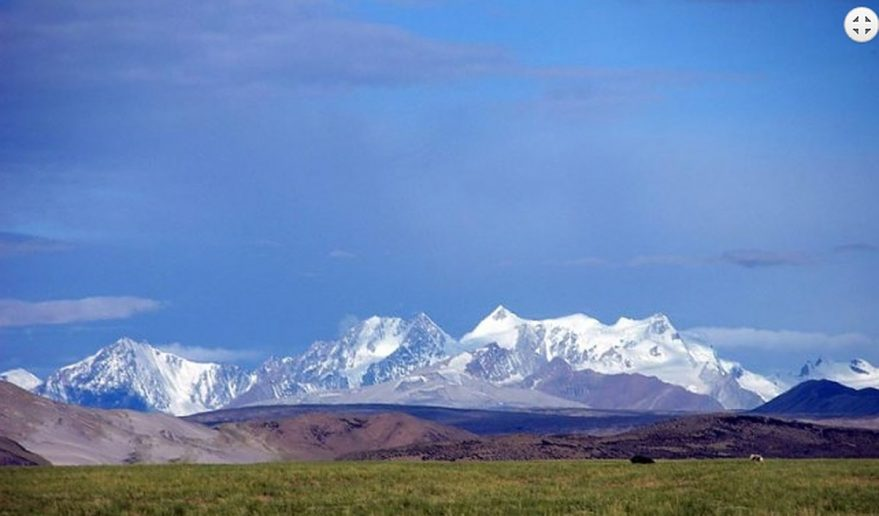 Captured from Prayang - Tibetan Himalayan range.