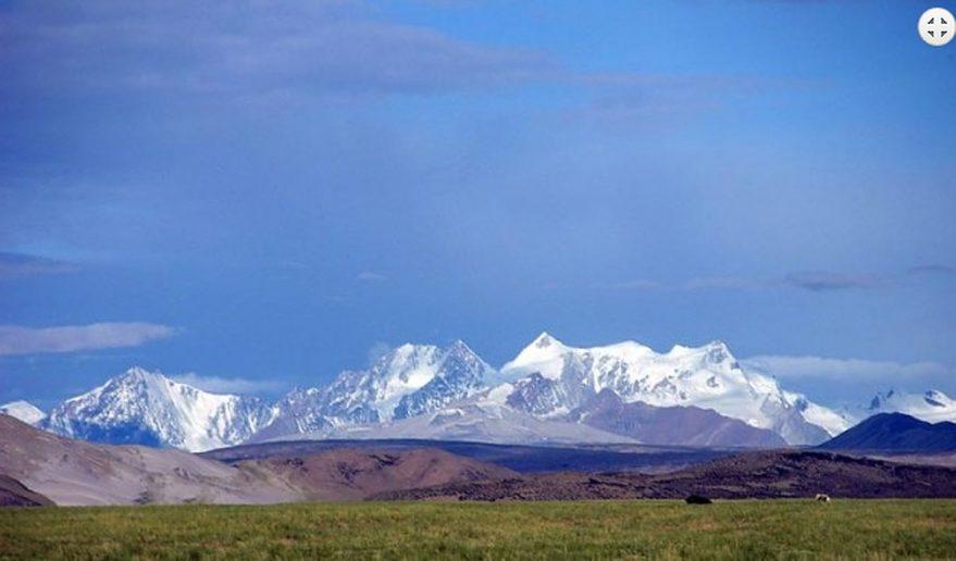 Captured from Prayang - Tibetan Himalayan range.