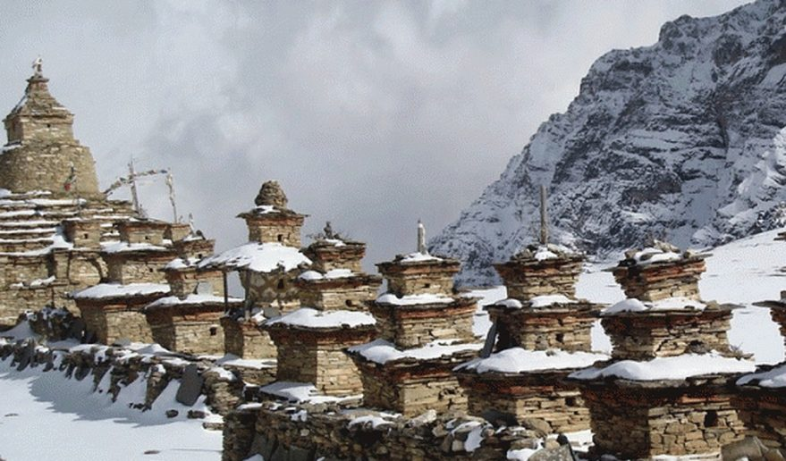 Nar Phu Valley Trek | Chhorten at Naar