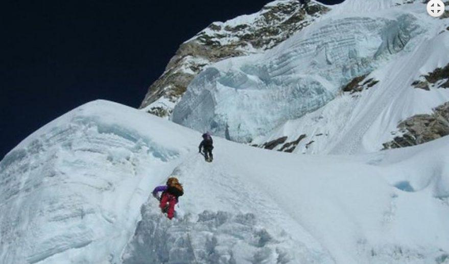 Climbing Mount Amadablam