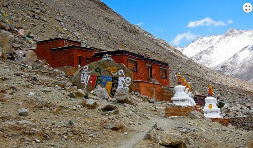 Mt. Kailash and Guge Kingdom Tour | Dira Phuk Monastery.