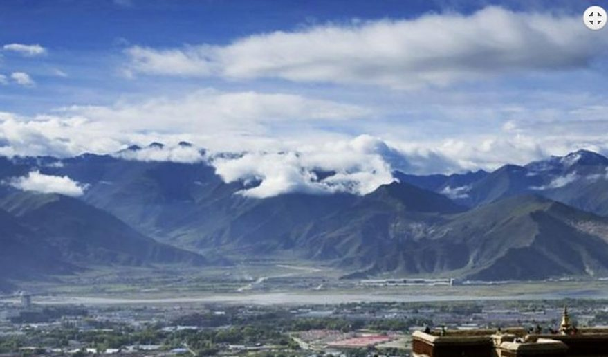 Drepung Monastery in Lhasa.
