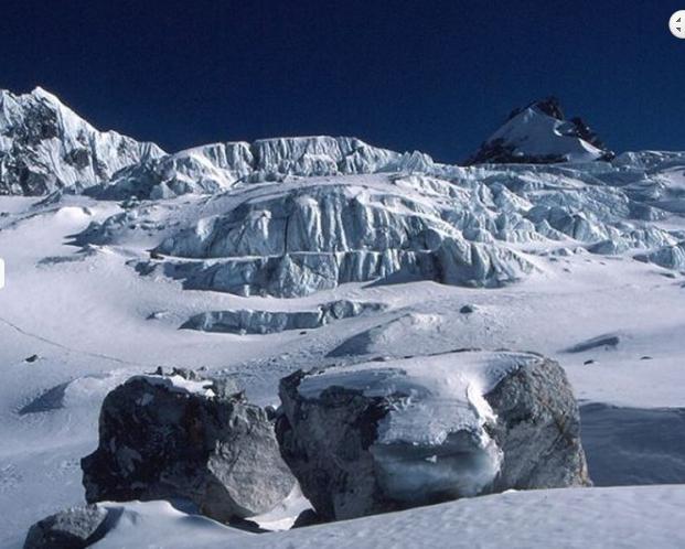 Drolambu Glacier 4880m, during Ramdung Peak Climbing