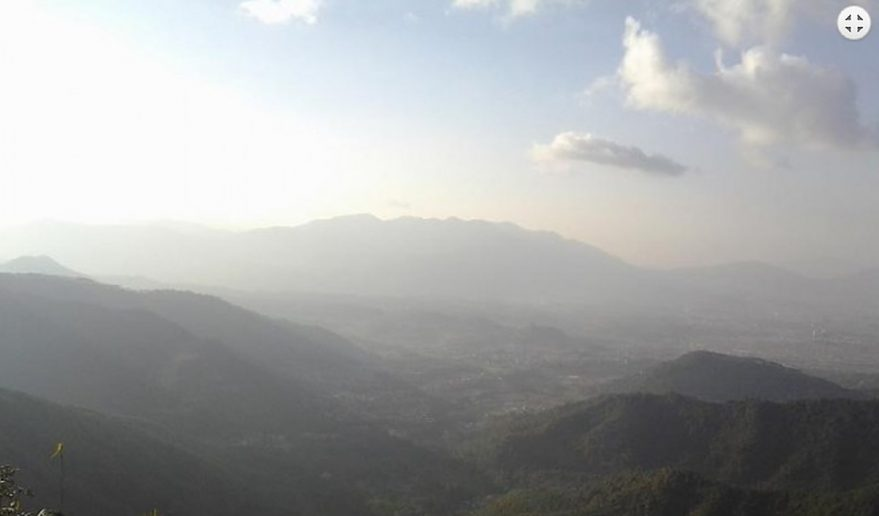 During Phulchoki hike.