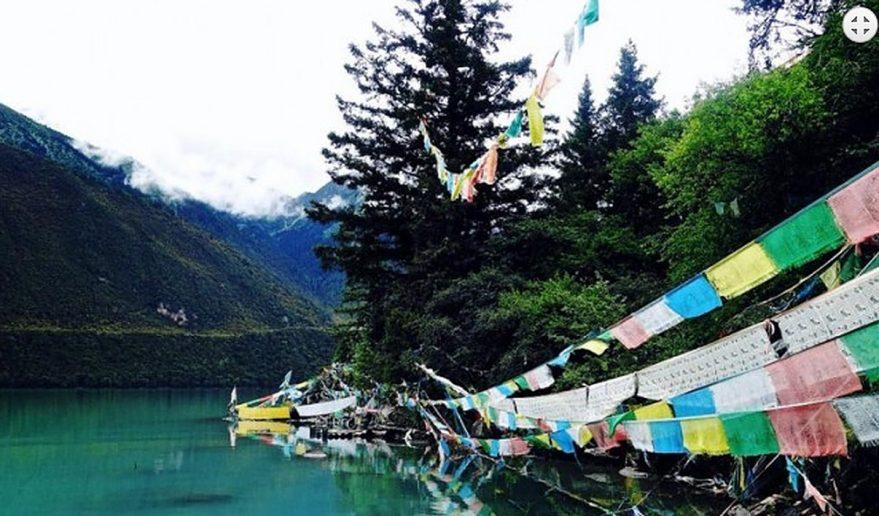 Enroute of Lhamo Latso Trek.