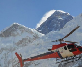 Everest Base Camp Helicopter Flight