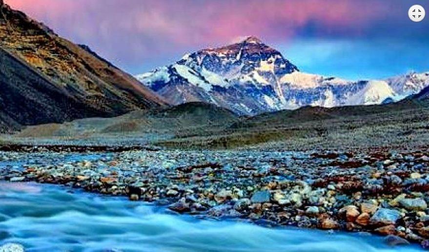 Everest Base Camp, Tibet.