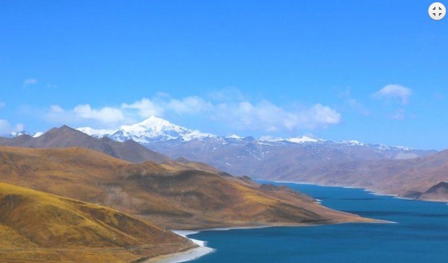 Kathmandu Lhasa Tour   Famous Yamdork Lake.