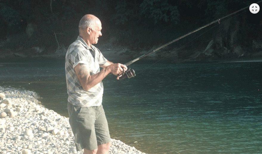 Fishing at Karnali River.