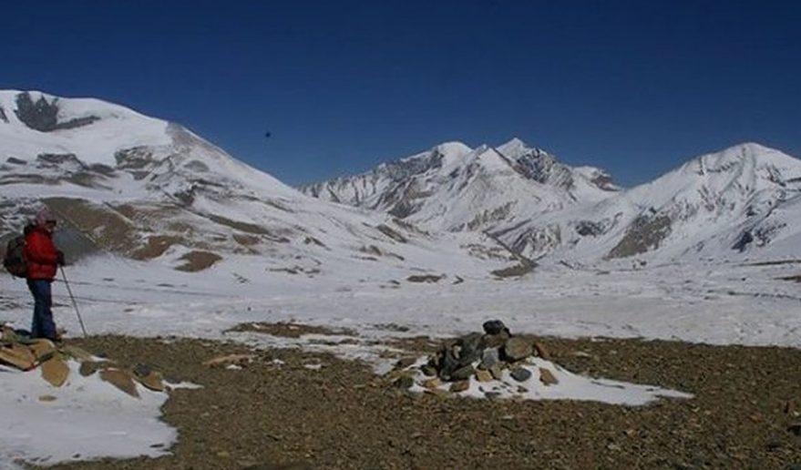 French Pass 5360m, during Dhaulagiri Circuit Trek