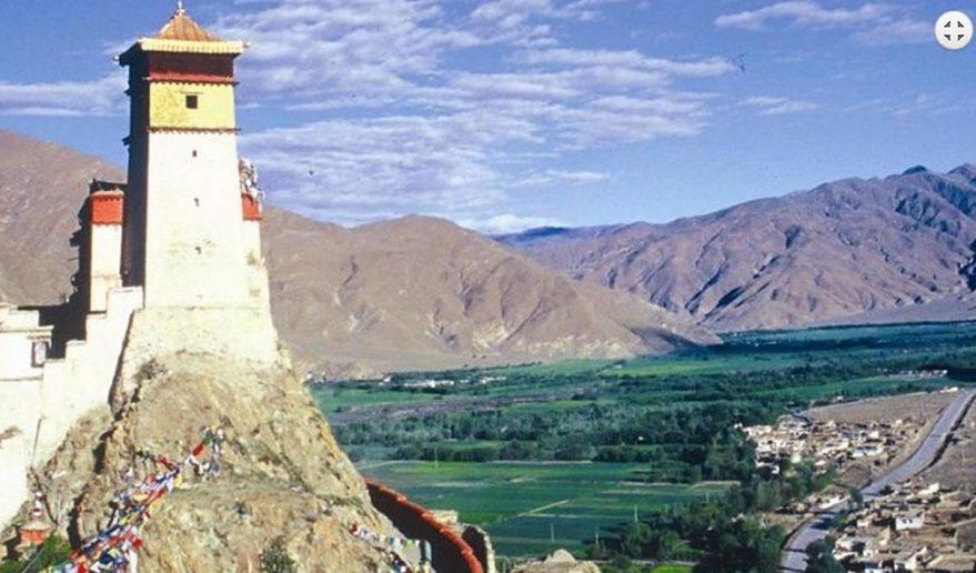 Ganden Monastery to Samye Valley.