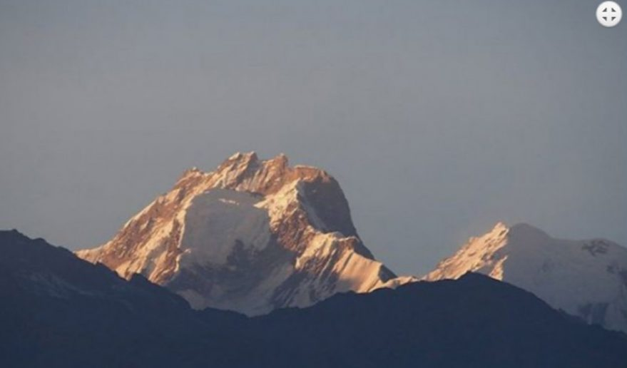 Ganesh Himal from Base Camp 5000m