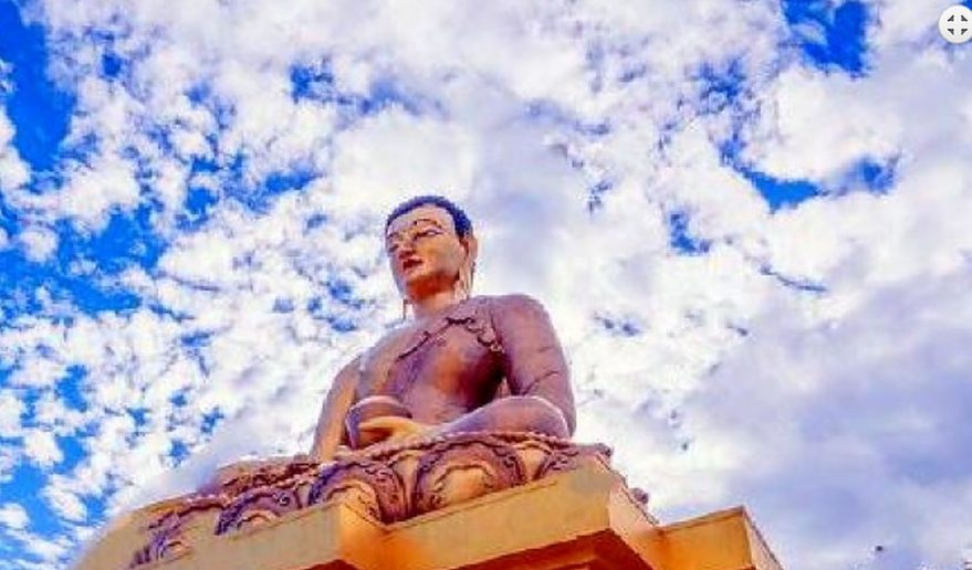 Glimpse of Bhutan Tour | Giant Buddha Glimpse of Bhutan Tour.