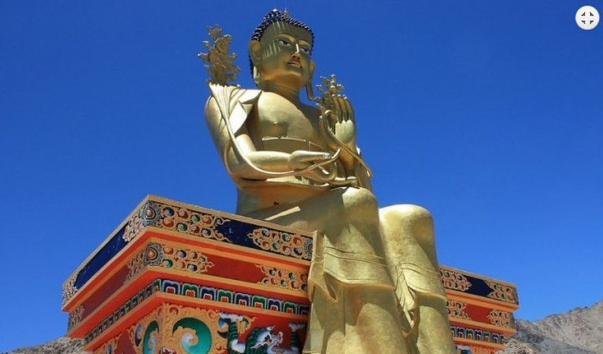 Giant Buddha Statue.