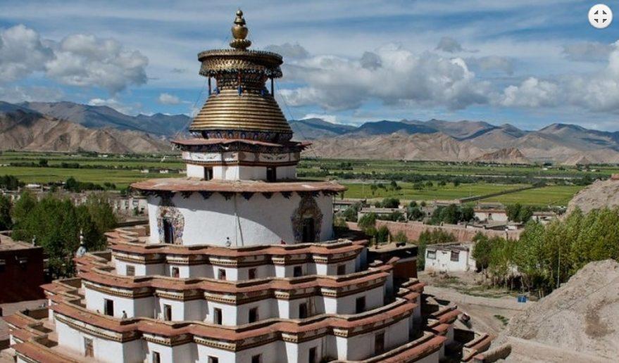 Gyantse Monastery Lhasa.