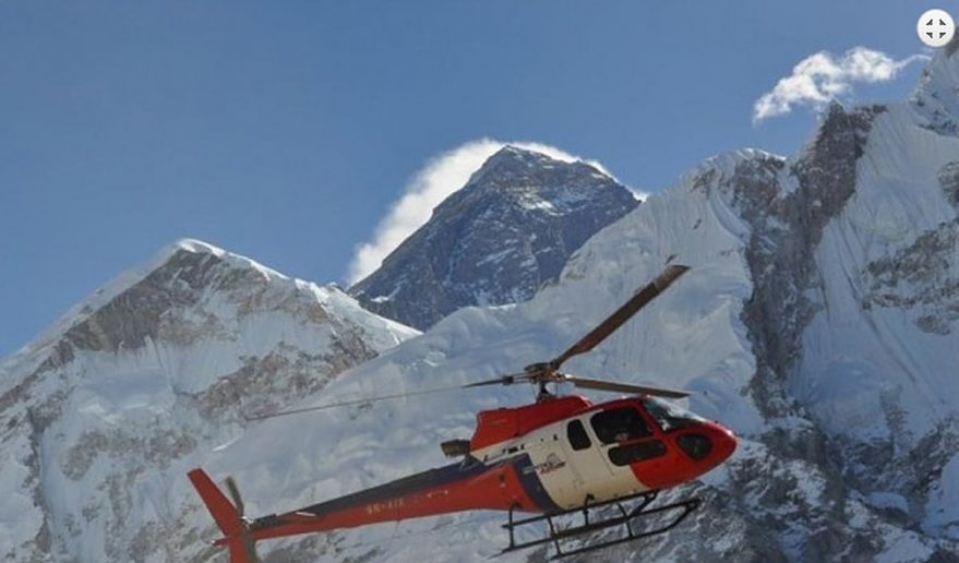 Everest Base Camp Helicopter Tour | Heli above the Himalayas.
