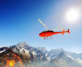 Helicopter Tour to Everest | Helicopter tour over the Himalayas.
