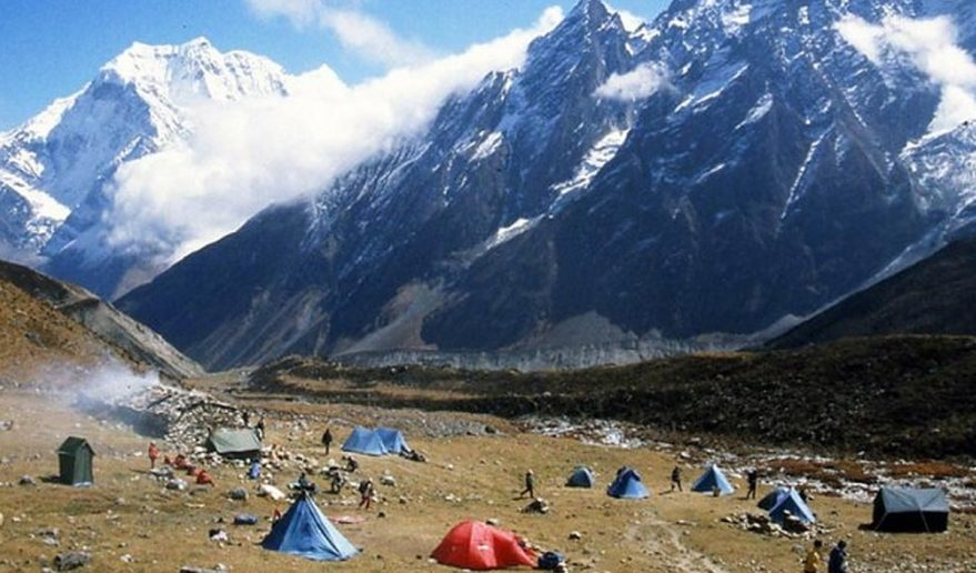 Himlung Himal Base Camp 4842m 15881ft