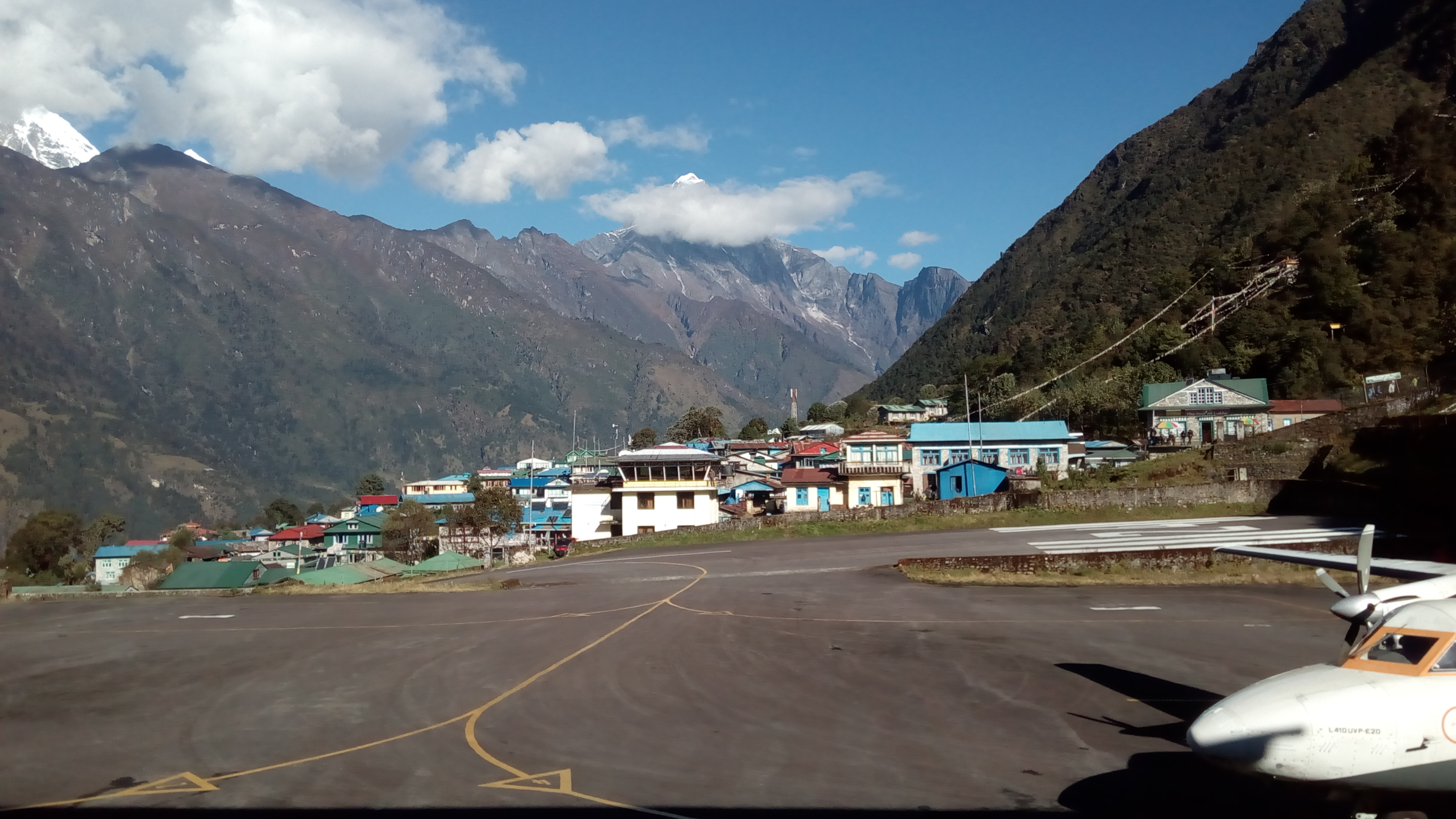 Lukla Airport at Everest Region