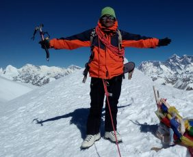 Summit of Mera Peak
