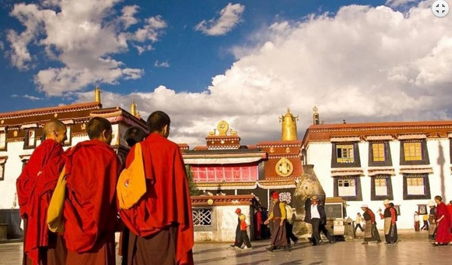 Jokhang Temple Lhasa.