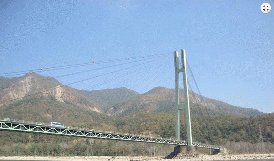 Karnali Bridge at Chisapani.